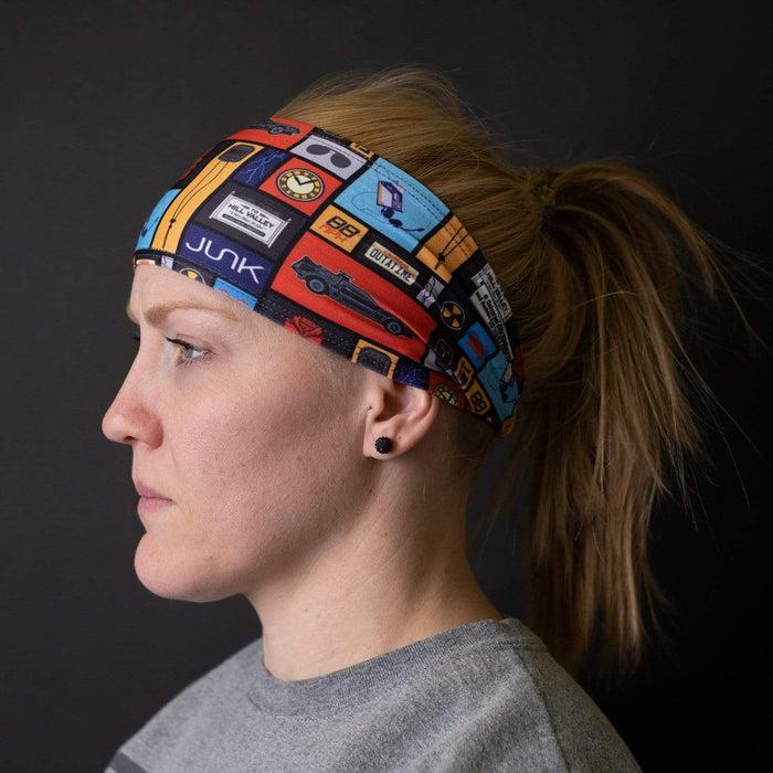 JUNK Brands headband Back to the Future: Overload Headband - Big Bang Lite