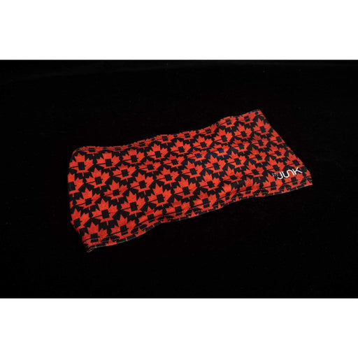 JUNK Brands headband Small Maple Leaf Black Headband - Big Bang Lite