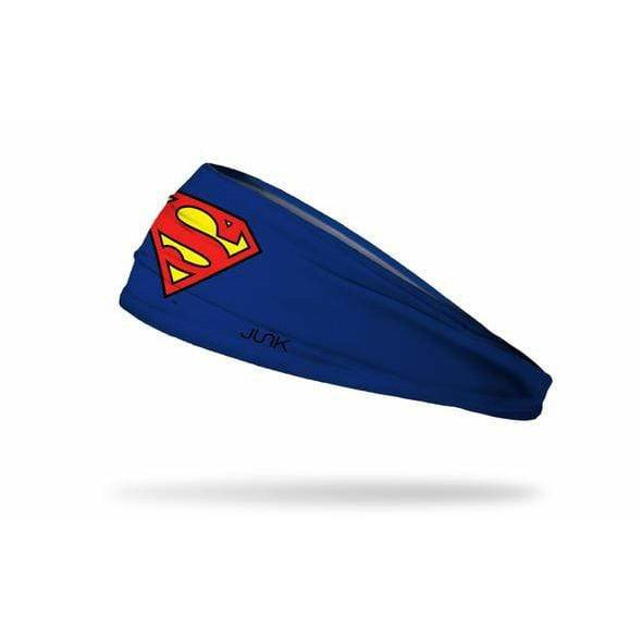 JUNK Brands headband Superman: Logo Headband - Big Bang Lite