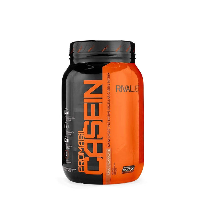 Rivalus Supplements Chocolate Rivalus Promasil Casein 2lbs