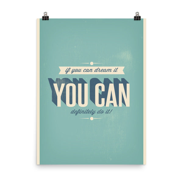 You Can Do It - Posterora - 3