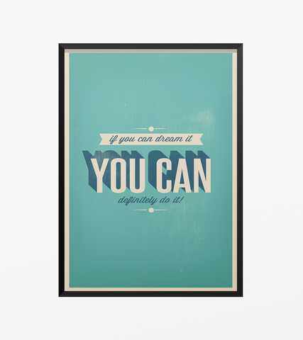 You Can Do It - Posterora - 1