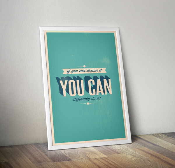 You Can Do It - Posterora - 2