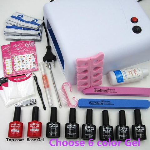 Beginner Nail Art DIY Tool Kit Sets