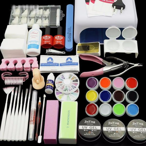 Intermediate Nail Art DIY Tool Kit Sets