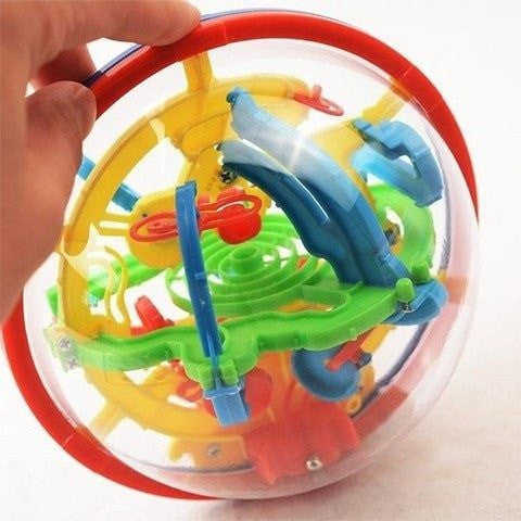3D Magic Maze Puzzle Brain Building Intellect Ball