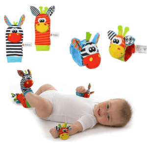 Baby Wrist Rattle & Foot Finder