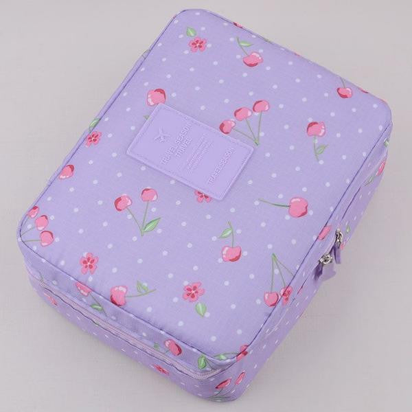 Beautiful Makeup Cosmetic Travel Pouch Organizer
