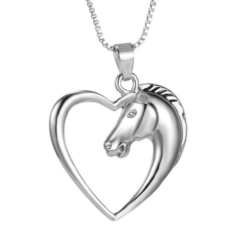 Horse In Heart Necklace(Limited Edition)