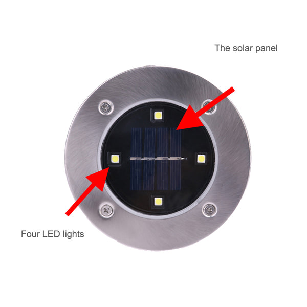 LED Solar Ground Lights
