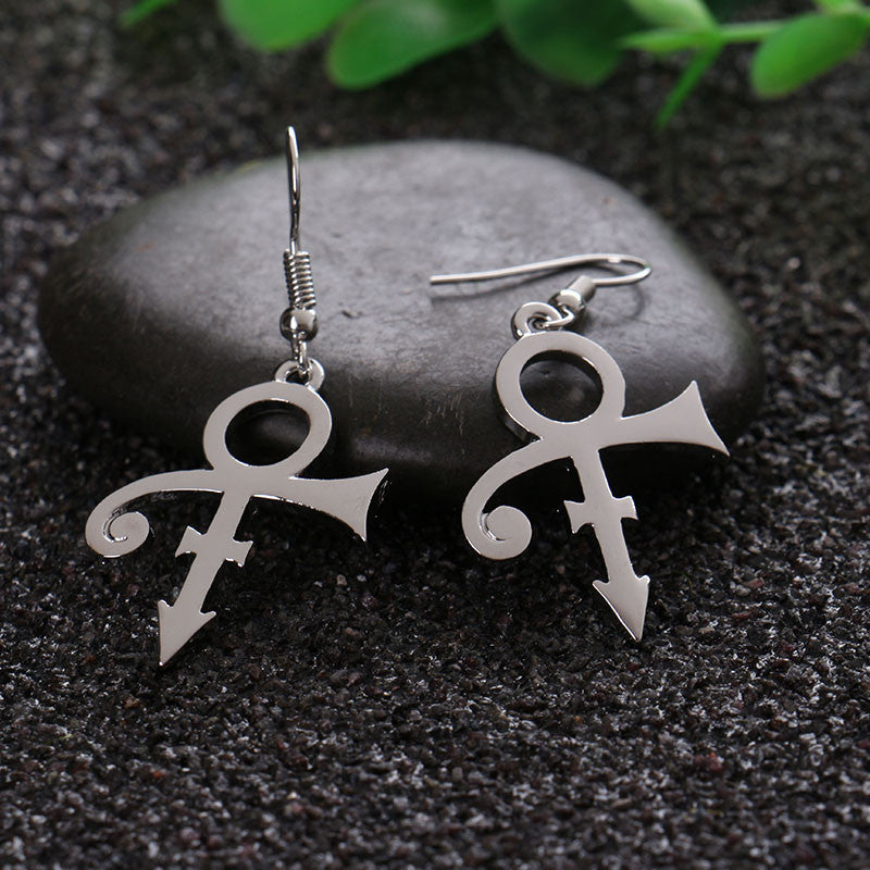 Prince Love Symbol Earrings My Bargain Collectibles