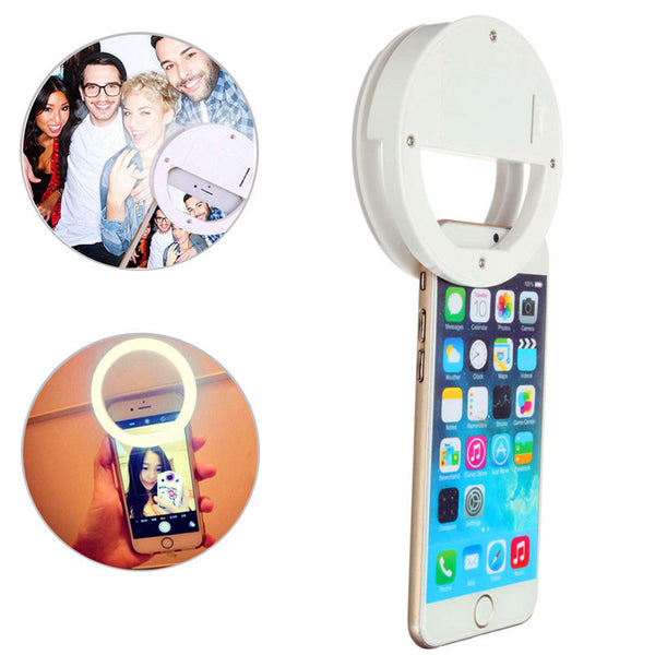 SMART PHONE LED SELFIE/LIVE STREAMING LIGHT RING