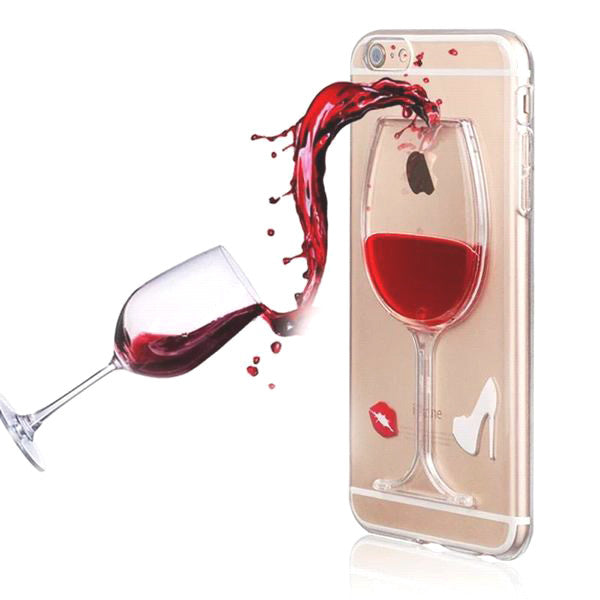 Hot Red Wine Glass Phone Case/Protector(Limited Edition)