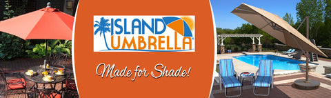 Island Umbrella - Made for Shade!