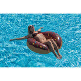 Gourmet Chocolate Doughnut - Inflatable Pool Tube