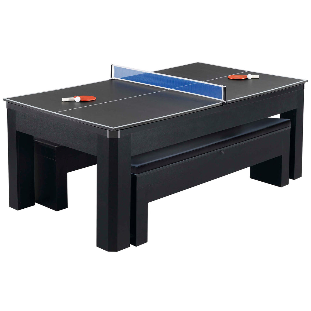 Park Avenue 7 Foot Pool Table Tennis Combination With