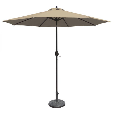 Mirage 9-ft Octagonal Market Umbrella with Sunbrella Canopy