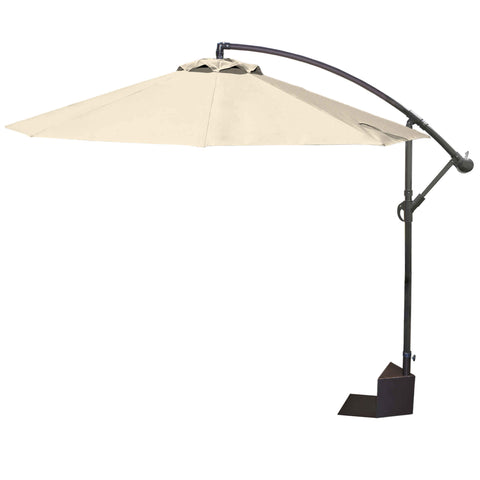 Santiago 10-ft Octagonal Cantilever Spa Side Umbrella