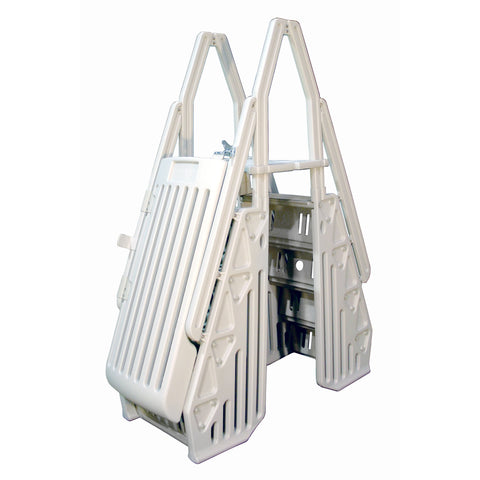 Neptune A-Frame Entry System for Above Ground Pools - White