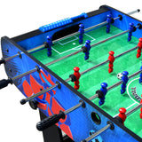 Gladiator 48-In Foosball Table for Kids with Easy Folding for Storage, Robot Graphics, Ergonomic Handles