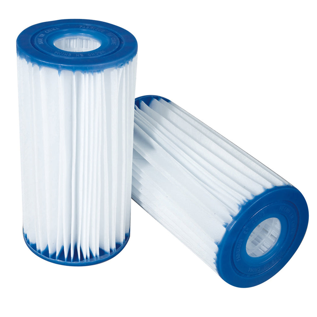 Type C 4.13-in x 8-in Replacement Pool Filter Cartridge - 4 Pack