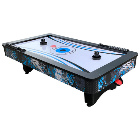 Crossfire 42-in Tabletop Air Hockey Table with Mini Basketball Game