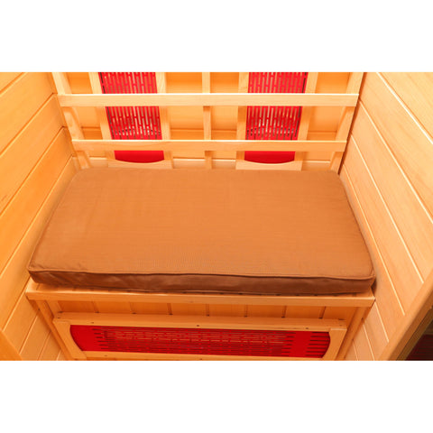 Seat Cushion for 1-Person Sauna - Brown
