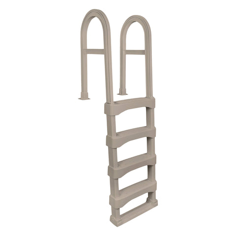 Snap-Lock Deck Ladder for Above-Ground Pools - Taupe