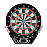 Outlaw Free Standing Dartboard & Cabinet Set - Cherry Finish
