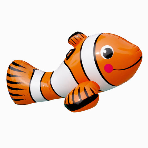 Clown Fish 67-in Inflatable Ride-On Pool Toy