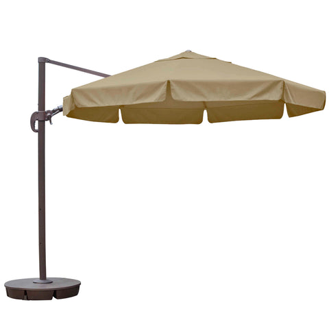 Freeport 11-ft Octagonal Cantilever Patio Umbrella in Sunbrella Acrylic