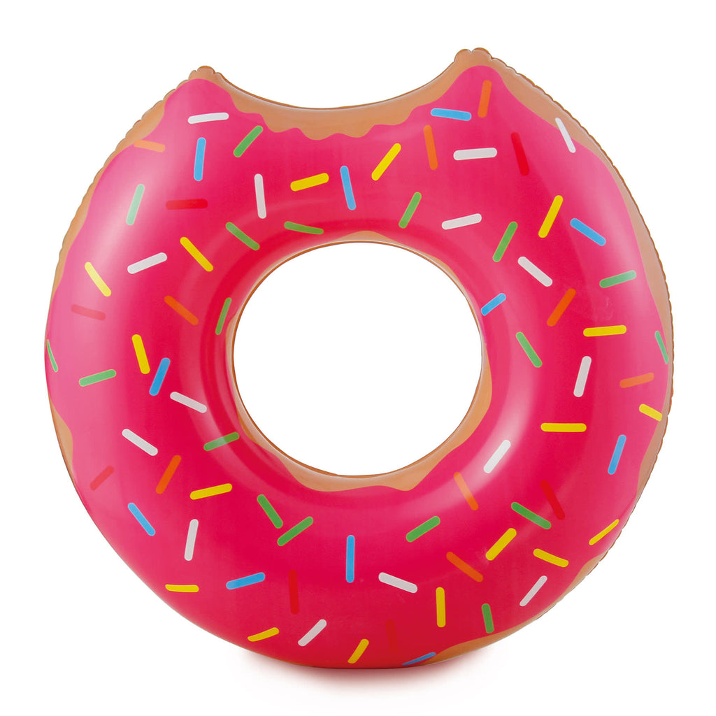 Strawberry Doughnut - Inflatable Pool Tube