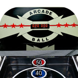 Boardwalk 8-ft Arcade Ball Table for Family Game Rooms with LED Track Lighting, Scratch-Resistant Playfield