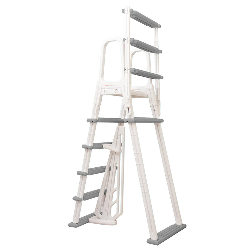 Heavy Duty A Frame Ladder For Above Ground Pools Blue
