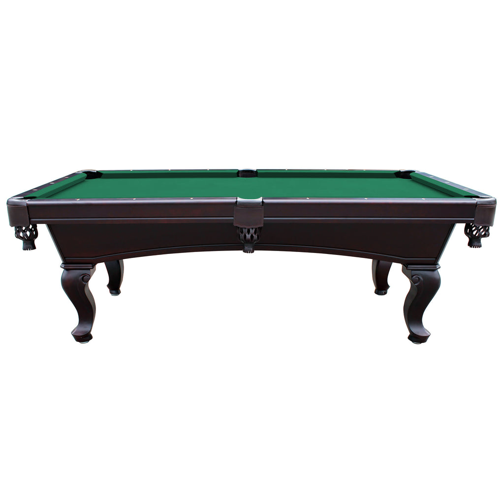 Unique Monterey 8-ft Mahogany Slate Pool Table – Blue Wave Products QT67