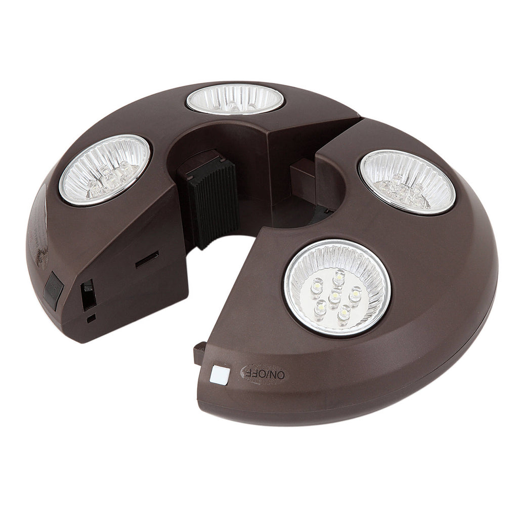 4-Light Rechargeable LED Umbrella Light