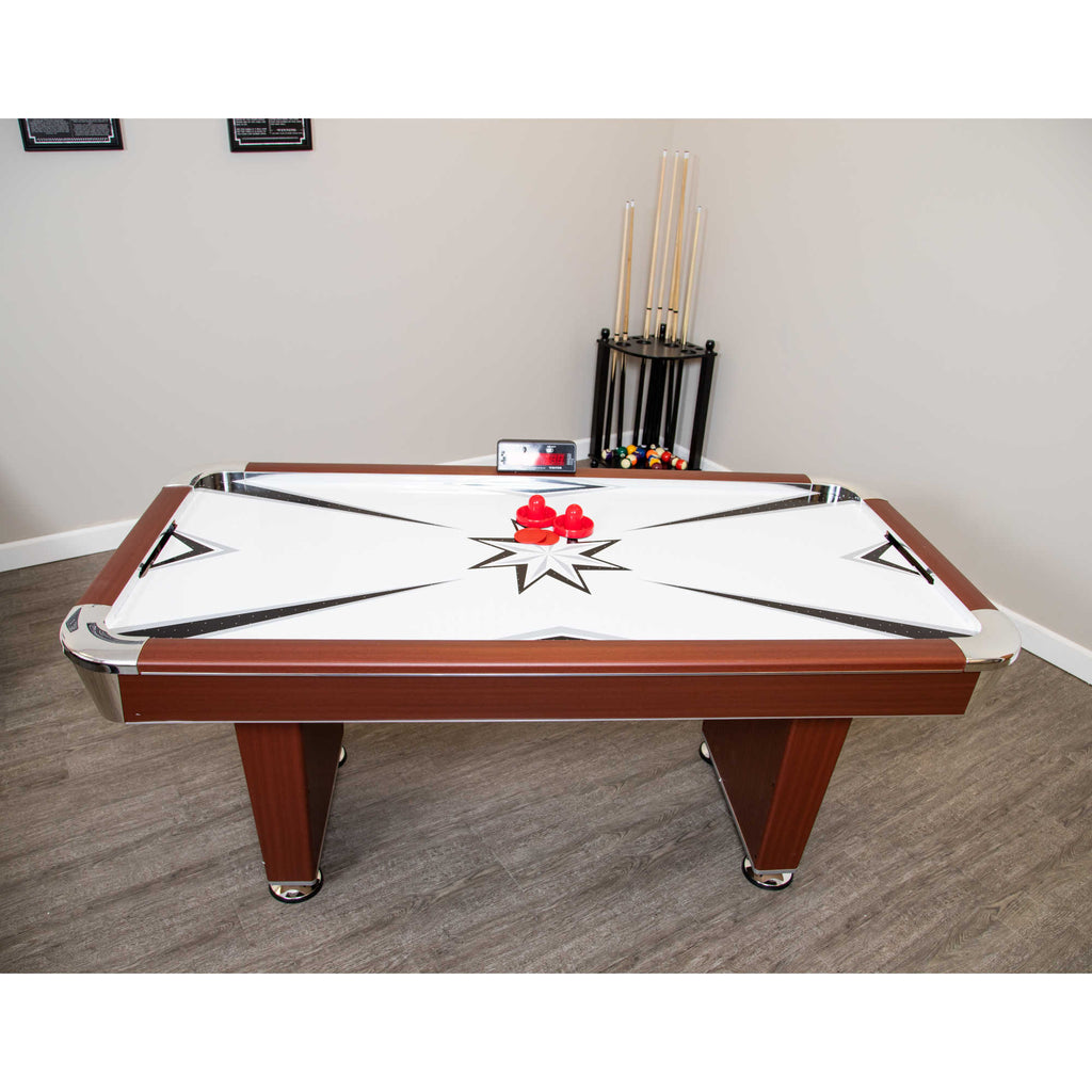Midtown 6-Foot Air Hockey Family Game Table with Electronic Scoring