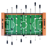 Hurricane 54-Inch Foosball Table for Family Game Rooms with Light Cherry Finish, Analog Scoring and Free Accessories