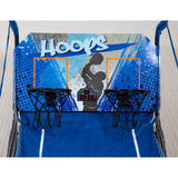Hoops Dual Basketball Arcade Game with Electronic Digital Scoring