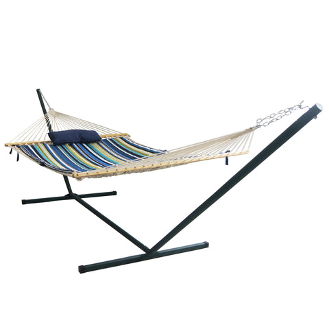 Island Retreat Hammock Set - Blue Cover
