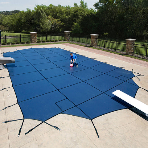 18-Year Mesh In-Ground Pool Safety Cover