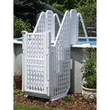 Easy Pool Step Entry System w/ Gate