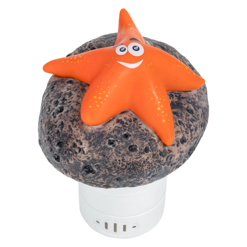 Starfish Floating Chlorine Dispenser- Orange