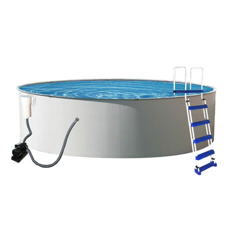 Presto Round Metal Wall Swimming Pool Package
