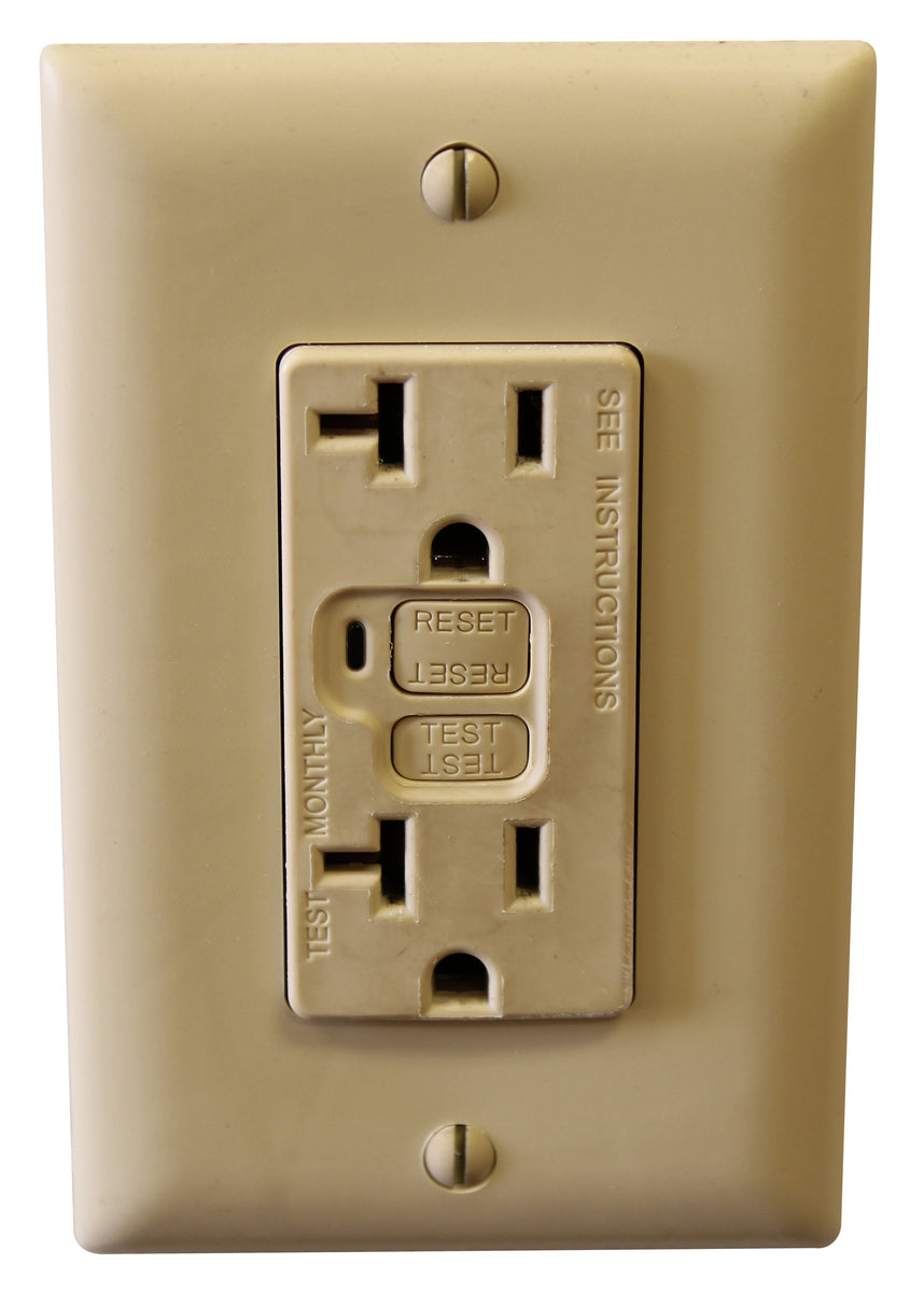 GFCI and Other Protected Outlets - AC Connectors
