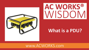 AC WORKS® Wisdom: What is a PDU?