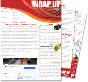 the WRAP UP October 2020, Issue Ten