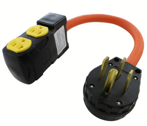JUST ARRIVED! Flexible Adapters with 20 Amp Circuit Breakers