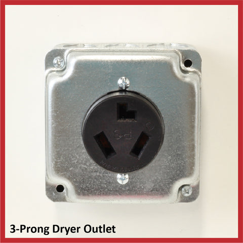 3-prong dryer outlet, ac works, dryer adapter, ev adapter