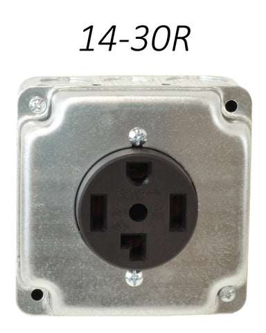 14-30R Receptacle outlet